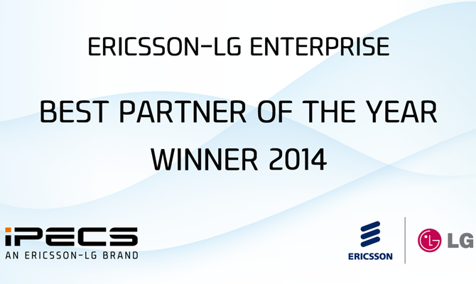 Ericsson-LG Best Partner of the Year Award 2014