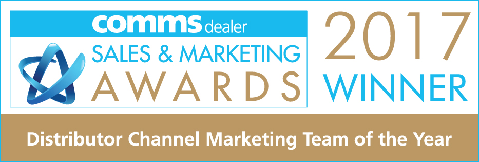 Comms Dealer - Distributor Channel Marketing Campaign of the Year Winner 2017