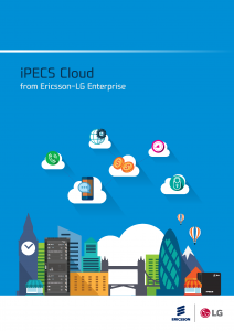 iPECS Cloud brochure front cover