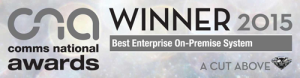 Comms National Awards 2015 - Best Enterprise System
