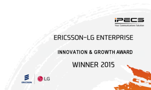 Ericsson-LG Innovation & Growth Award 2015