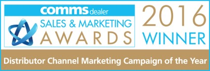 Comms Dealer - Distributor Channel Marketing Campaign of the Year Winner 2016
