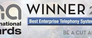 Comms National Awards - Best Enterprise Telephony Systems Winner 2016