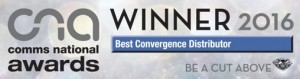 Comms National Awards - Best Convergence Distributor Winner 2016
