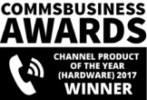 Commsbusiness Awards - Channel product of the year winner 2017