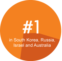 Ericsson-LG number one in S.Korea, Russia, Israel and Australia