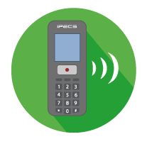 Mobility handset icon