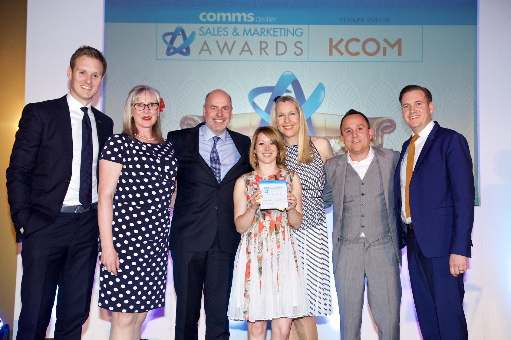 Comms Dealer Award Photo 2016 - Copy
