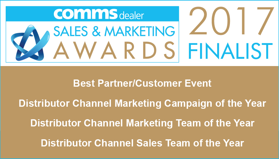Comms Dealer Sales and Marketing Awards Finalist