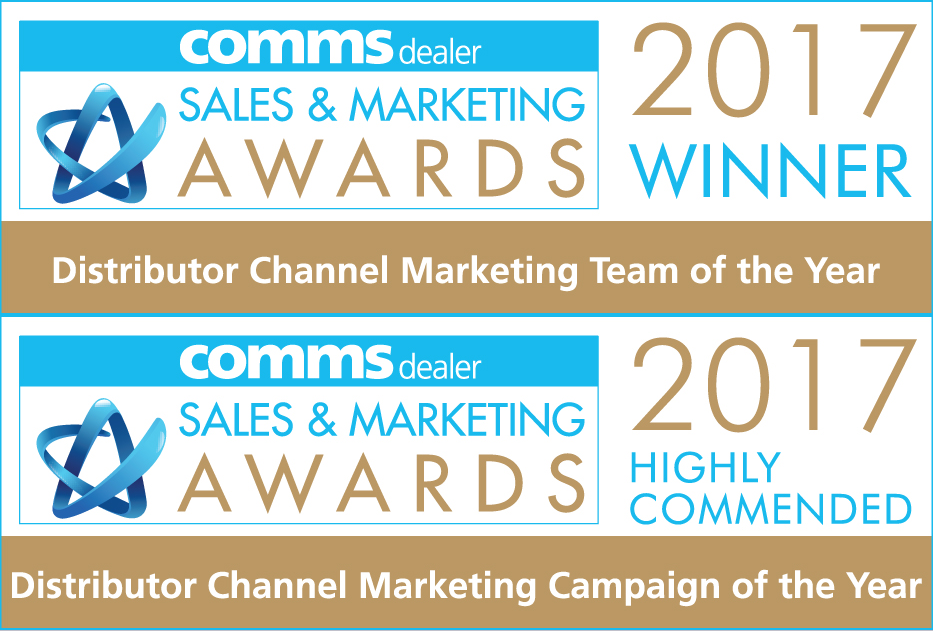 Comms Dealer Sales and Marketing Awards Winner