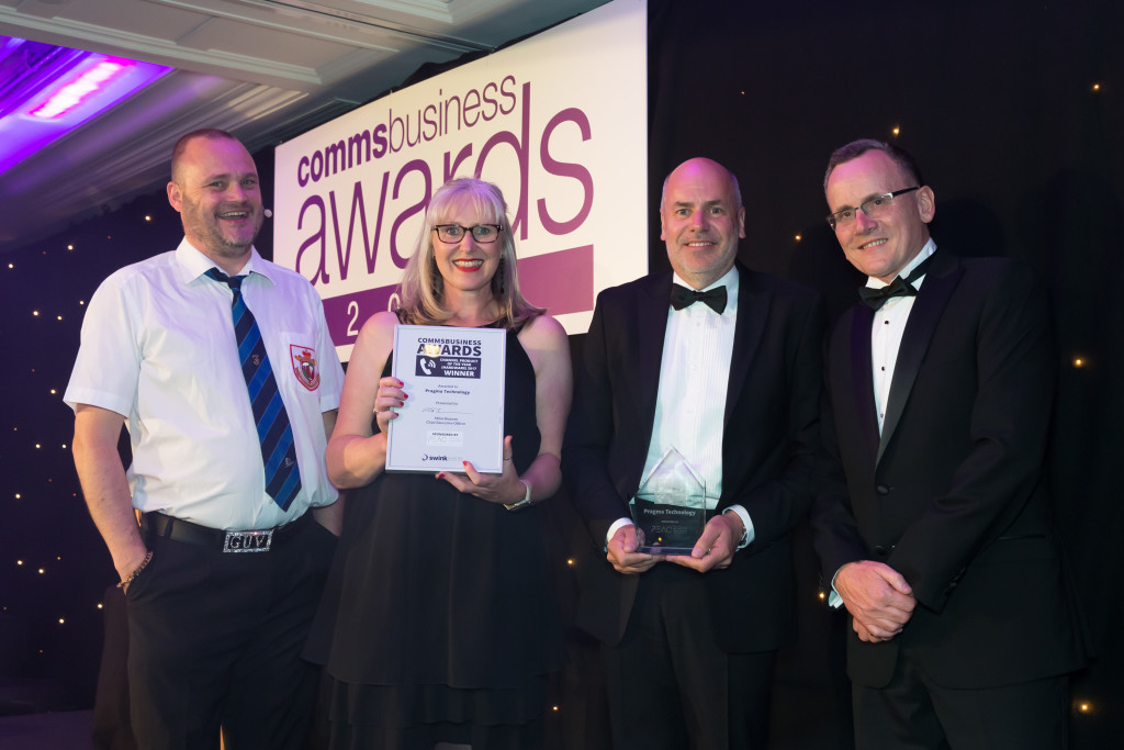 Comms Business Awards Winner