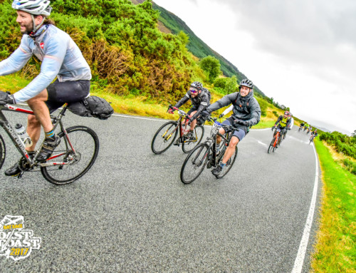 Supporting the Adversity Awards with a 105 miles of challenging terrain
