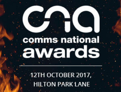 We are delighted to be Comms National Award Finalists