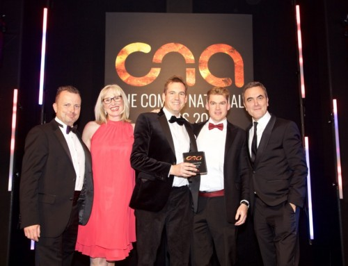 Proud to be awarded two Comms National Awards