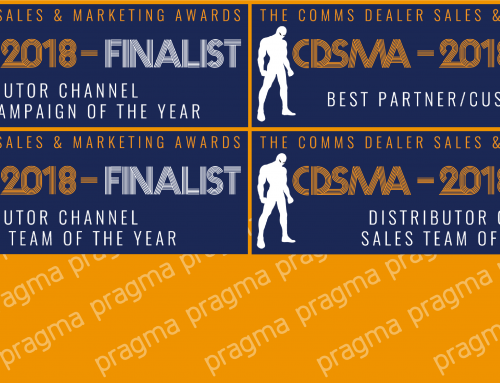 Delighted to be Comms Dealer Sales and Marketing Award Finalists 2018