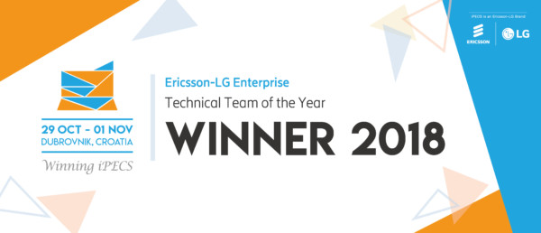 Ericsson-LG Enterprise - Technical Team of the Year 2018