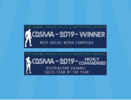 Comms Dealer Sales and Marketing Awards 2019 Winner