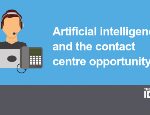 Artificial intelligence and the contact centre opportunity
