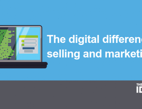 The digital difference in selling and marketing